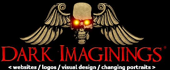 Dark Imaginings: Haunted House Websites, Graphics, Logos