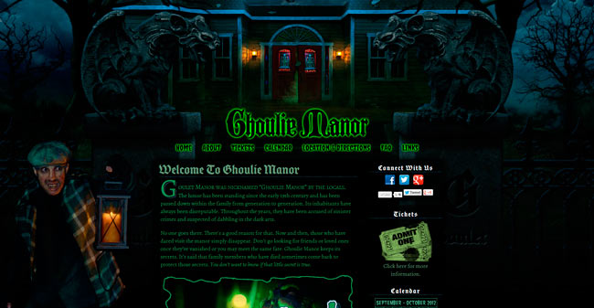 Ghoulie Manor.com